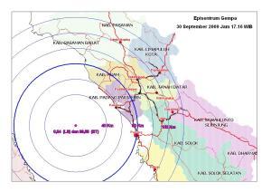 Gempa Sumbar 30 sept1 2009